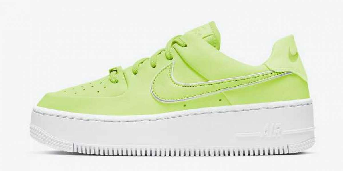 Cool Nike Air Force 1 Sage Low Barely Volt for Onlin Sale