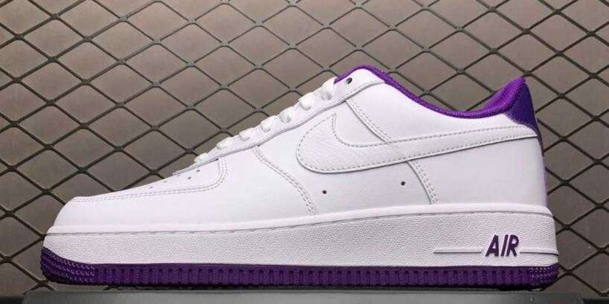 CJ1380-100 Nike AF1 Air Force 1 Low Voltage Purple White To Buy