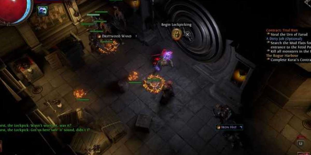 Necromancer Aurabot Support Build that is most suitable for players who team up to play POE
