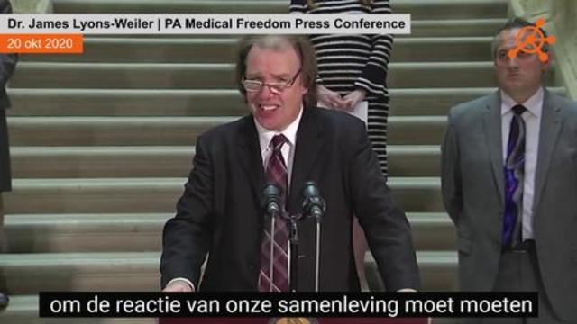 Dr. James Lyons-Weiler   PA Medical Freedom Press Conference