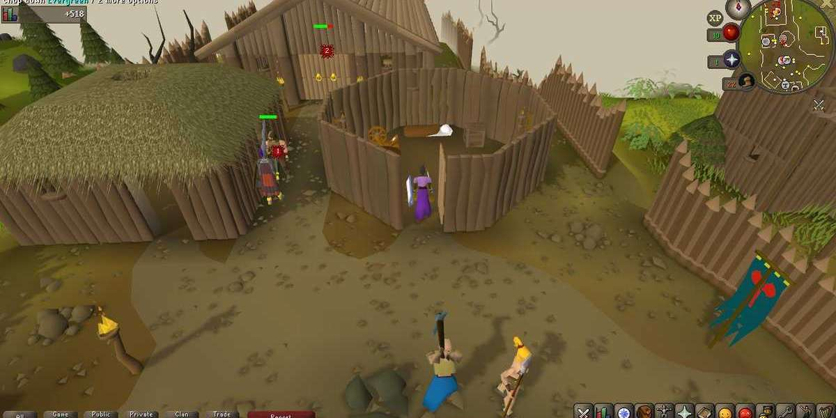 Your first objective is to RuneScape