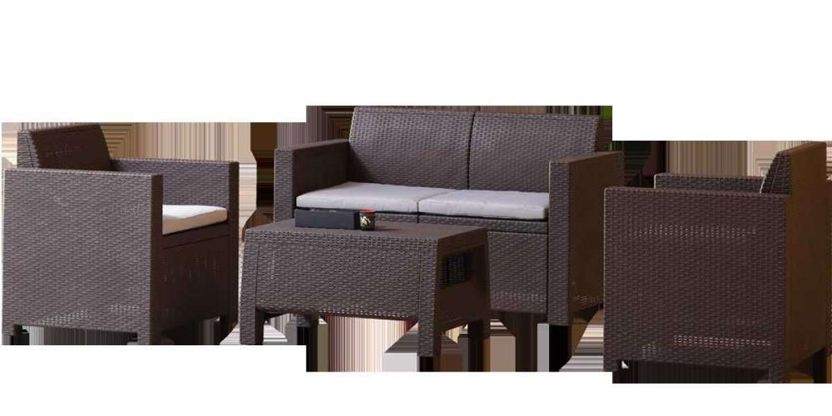 Outdoor Rattan Set - Clean and Paint Tips